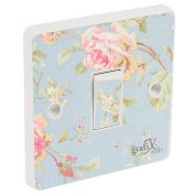 Shabby Chic Pattern Light Switch Sticker Vinyl / Skin cover sw68