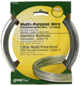 The Hillman Group 122065 14-Gauge Solid Wire, 30m