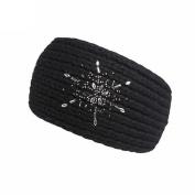 DORIC Women Girls Knitted Fashionable Headwrap Headband