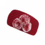 DORIC Turban Headband Knitted Fashionable Headwrap Headband for Women Girls