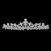 Cubic Zirconia CZ Wedding Bride Crown Tiara Headband Hair Jewellery Accessories HG0056