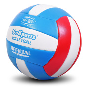 GoSports Soft Touch Volleyball for Recreational Play with Premium Air Pump