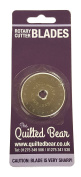 Quilted Bear DAFA 45mm Rotary Cutter Spare Replacement Blade Suitable for OLFA + Fiskars