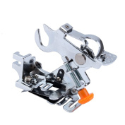 Ruffler Foot,Ruffler Attachment Presser Foot Machine Fits All Low Shank Singer, Brother,Babylock,Janome,Kenmore,Juki,New Home,Necchi and Elna Sewing Machine