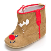 Baby Christmas Boot Shoes,Cartoon Printed Soft Sole Anti-slip Boot for Newborn Infant Boy Girl