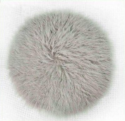 EBTOYS Baby Photography Props Fur Quilt Photographic Mat Newborn Photography Wraps Blanket-Light Grey