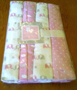 Baby Receiving Blanket Cribmates Pink