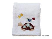 Baby Coral Fleece Blanket, 100cm X 80cm Cosy, Comfortable & Warm