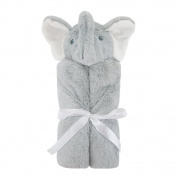 H & T Animal Design Plush Baby Swaddle Blanket Security Blanket for Newborn Baby 80cm x 80cm