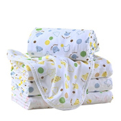 Luyusbaby Infant Toddler Soft Cotton Baby Receiving Blanket Medium