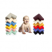GZQ 16 Pack Solft EVA Baby Safety Edge Corner Guards Protectors -Random Colour