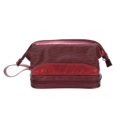 Mootime Household Essentials Grooming Toiletry Travel Bag Organiser for Women Red