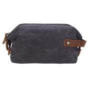 Mootime Travelling Flat Toiletry Bag,Outdoor/Travel/Bathroom Cosmetic Bag Grey