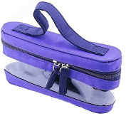 Clear Window Essential Oil Carry Bag Case Holds 5 Bottles 15ML in Size