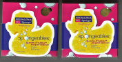 SPONGEABLES..DOUBLE PACK...GETS KID'S SQUEAKY CLEAN...FUN AND LOTS OF BUBBLES