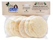 Cleo's facial loofa pads.(pack contains 6 pads) All natural face cleanser with your favourite soap to clean & exfoliate your skin the natural way with our top quality Egyptian loofa / luffa / loofah