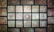 COMBO! Set of (2) -Decorative Tiles 18x30 -Tile Home Accent Welcome Mat