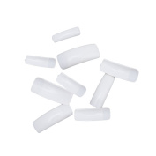 Myhouse 100pcs Nails Tips White False Nail Art Tips Beauty Set