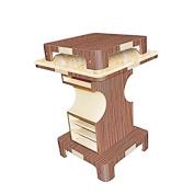 Nail Dryer Table Square VERONA II Salon Nail Dryer Salon Furniture & Equipment