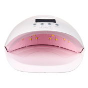 Nibito Professional 50W LCD Display Dual UV LED Nail Lamp Nail Dryer With Bottom Timer