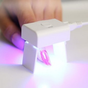 3W Mini USB Supply Nail LED Lamp Light Gel Dryer Curing Foldable by Aroundstore