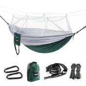 YISEEK Outdoor Mosquito Net Hammock, Premium Quality, Lightweight & Durable.Comfortable For Bug Free Camping, Hiking, Backpacking & Travel.