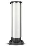 Nespresso Capsule Holder Coffee Capsule Rack Carousel, Nespresso Pod Holder with 40 Pod Capacity, 360-degree Rotation, Aluminium
