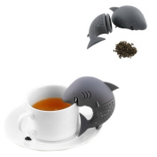 Shark Shape Tea Infuser Silicone Strainers Single Cup Tea Filter Kitchen Gadget