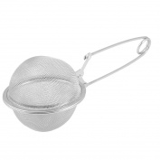 Star Shopinc Snap Mesh Tea Ball Infuser, Practical Cook Snap Convenient Stainless Steel Handle Mesh Tea Ball Infuser (5.1cm ) Diameter Tea Strainer