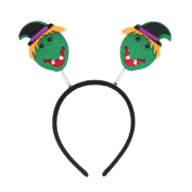 Green Monster Halloween Boppers Headband Kids Head Band Hair Accessories 3 Pack