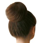 Riyang Women's Hair Bun Extensions Short Straight Drawstring Synthetic Dark Brown #2/33