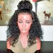 Hot Glueless Lace Front Wigs With Baby Hair Curly Hair Wig Brazilian Virgin Human Hair For Black Women 150% Density Lace Front Wigs Natural Hairline