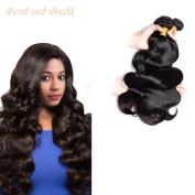 Brazilian Body Wave Human Hair Weaves 1 bundle 7a Virgin Hair Extensions Natural Colour