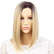 GX beauty HAIR Ombre Colours Short Hair Costume Wigs Straight Bob Wig for Cosplay Party