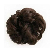 Scrunchy Scrunchie Bun Up Do Hair Piece Hair Ribbon Extensions Ponytail Extensions Wavy Curly