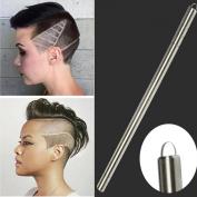 Fabal 2017 Hair Trimmers Multifunctional Pro Salon Magic Engraved Razor Pen Stainless Steel Pen Shavings Eyebrows Tweezers Set