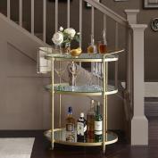 Bar Cart Lauren/Antique Gold