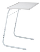 EasyComforts Adjustable Tray Table - White by EasyComforts