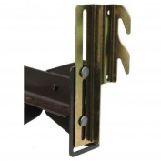 #711 Bolt-On to Hook-On Bed Frame Conversion Brackets with Hardware Hook Plate Adapter for bed adjustment