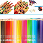 Soucolor 160 Coloured Pencils Set Premium Soft Core Drawing Pencils for Adult Colouring Books Art Projects