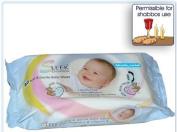 Sleek Sensation 80ct Baby Wipes Scented