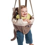 Evenflo ExerSaucer Baby Doorway Jumper, Brown - Joey Jump Up
