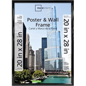Mainstays 20x28 Trendsetter Poster and Picture Frame Black WLM