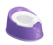 BABYBJORN Smart Potty, Purple/White