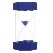 Decdeal 5/15/20 Minutes Hourglass for Kitchen Office Game Timer Christmas Birthday Gift