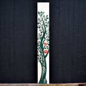The Growing Tree | Kids Wall Hanging Height Chart by Growth Chart Art