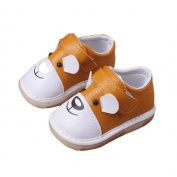 SMYTShop Newborn Baby Boys' Premium Soft Sole Non-slip Infant Prewalker Toddler Sneaker Shoes Mary Jane Shoes 0-24 Months