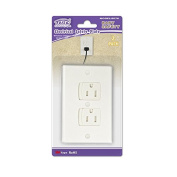FABE Self-Closing Electrical safety Outlet Cove rs for Baby safety, White