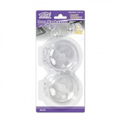 FABE Clear View safety Stove Knob Covers, 2 Count