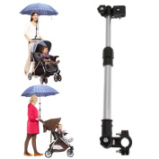 Useful Adjustable Umbrella Stretch Stand Holder Plastic Stroller Accessory Baby Stroller Pram Umbrella Stretch Stand Holder